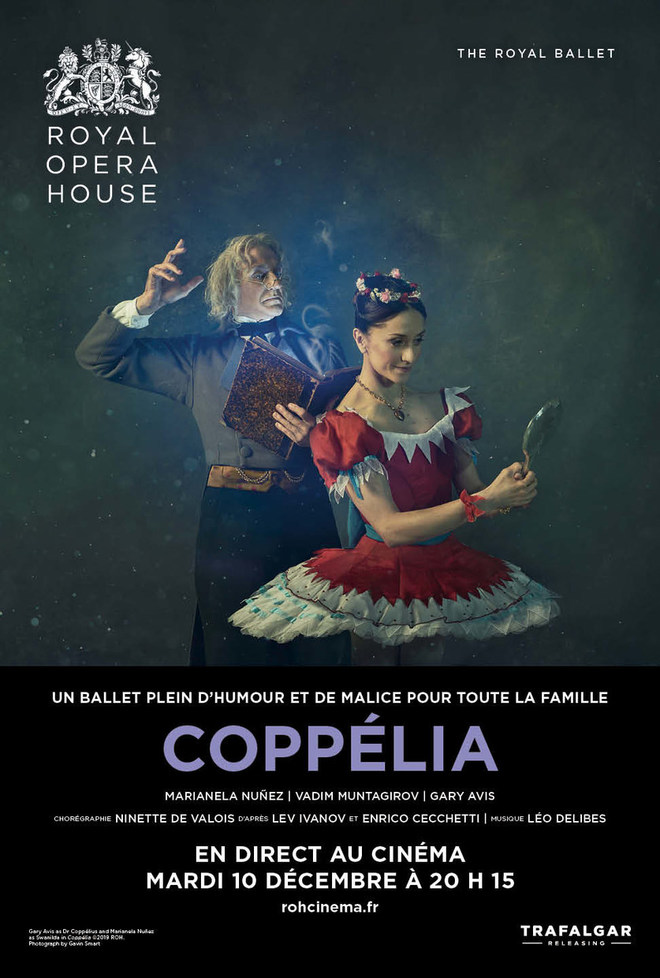 Royal Ballet en Direct au Cinéma Confluences Mennecy
